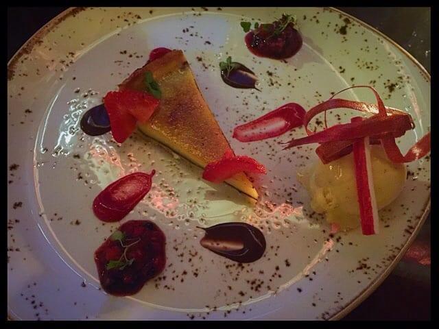 lemon tart crockers folly london review food drink glasgow foodie explorers