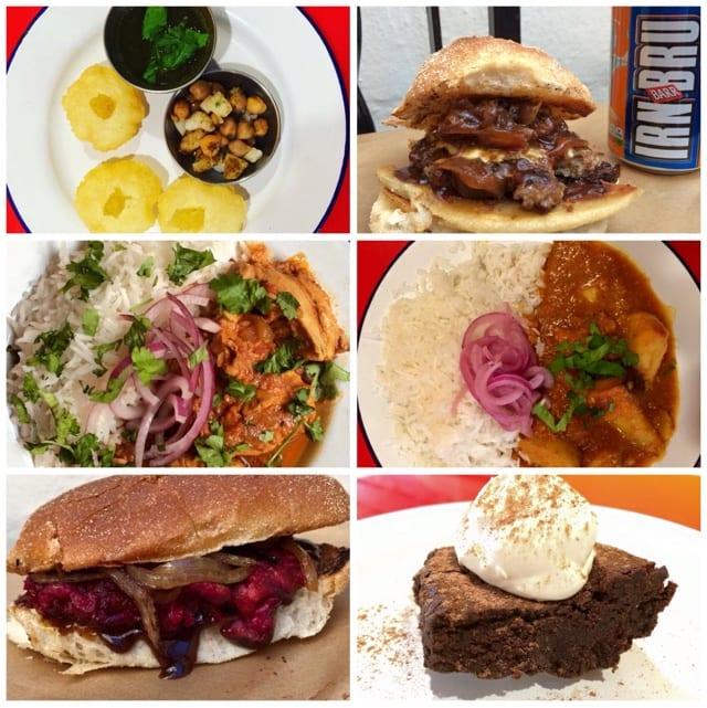 babu bombay kitchen, ugly burger, glasgow, southside, glad cafe, event, southside street food showdown, street food