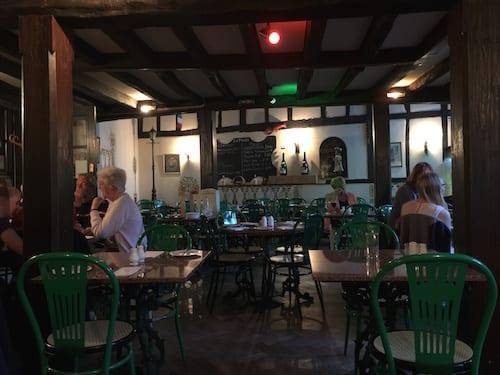 glasgow foodie explorers food travel blog La_Piazza_York_Inside