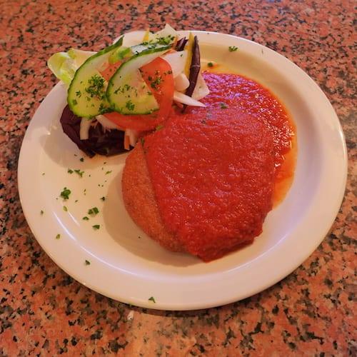 Glasgow foodie explorers food travel blog La_Piazza_york_Mozzarella