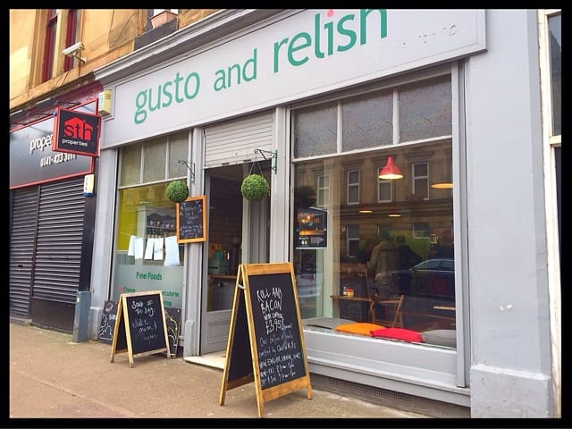 gusto and relish southside food brunch lunch scotland glasgow foodie explorers glasgow food blog