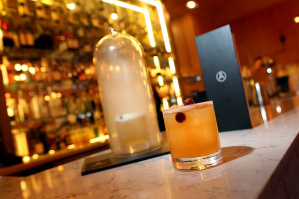 The Smoking Gong the adamson st andrews cocktail