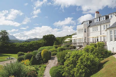 macdonald forrest hills hotel aberfoyle trossachs exterior outside