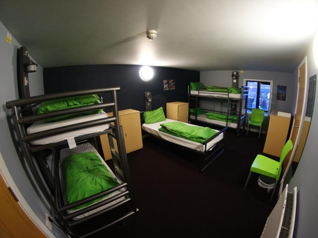 YHA Berwick - our dorm bedroom