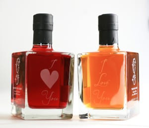 engraved with love duo gordon castle gin valentines