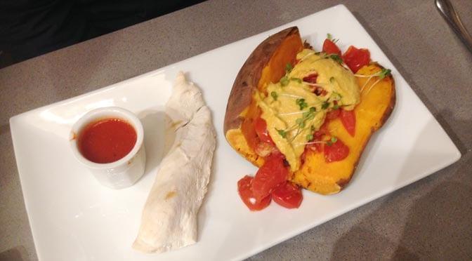 Prep Fitness Kitchen - baked potato, chicken breast