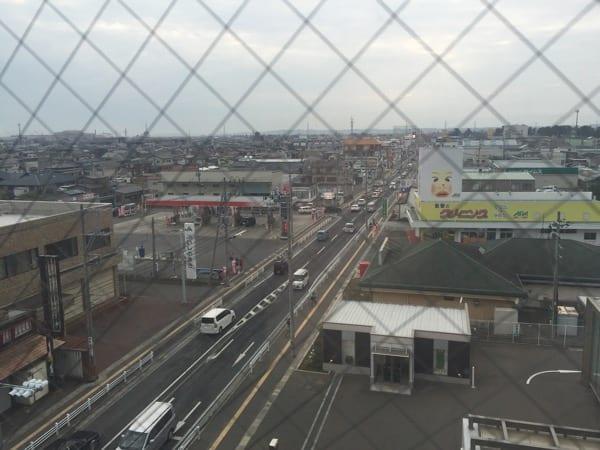 Hotel window view ishinomaki Japan Glasgow foodie explorers