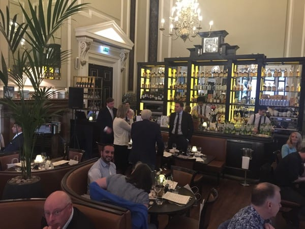 Hutchesons gordon castle gin dinner event Glasgow foodie explorers