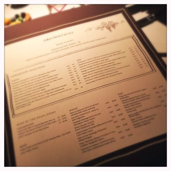 restaurant andrew fairlie gleneagles scotland review glasgow foodie explorers matching wine menu