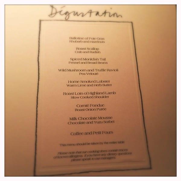 degustation menu restaurant andrew fairlie gleneagles scotland review glasgow foodie explorers