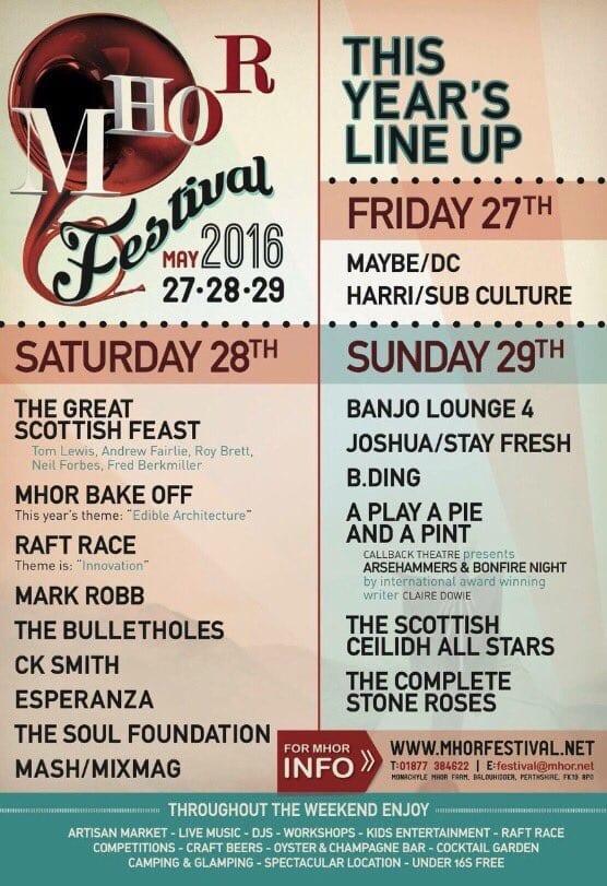 Mhor festival scotland Tom Lewis
