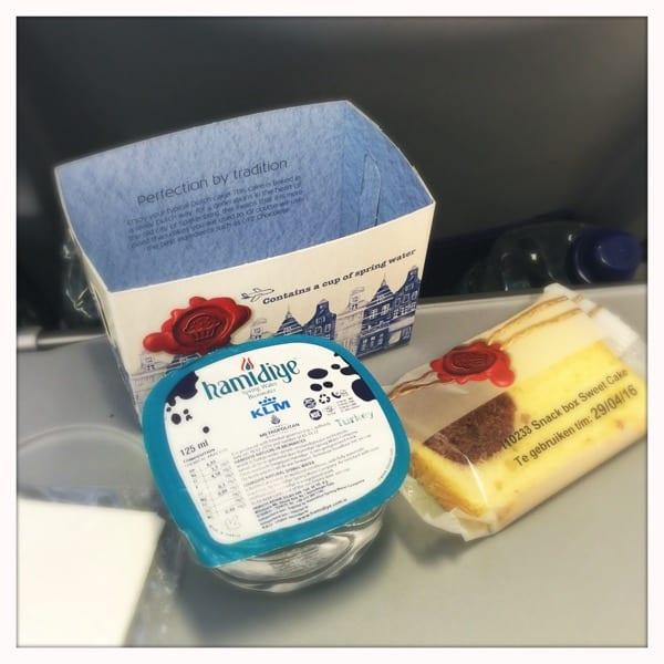 KLM breakfast Glasgow to Amsterdam Glasgow foodie explorers