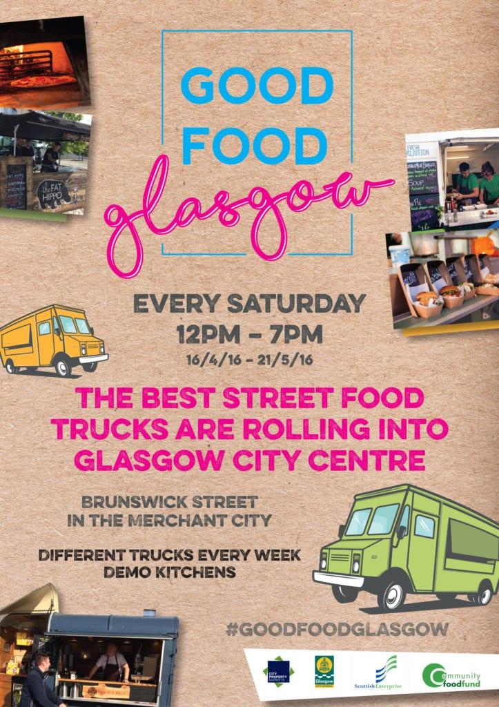 merchant city strEAT glasgow food glasgow street food flyer