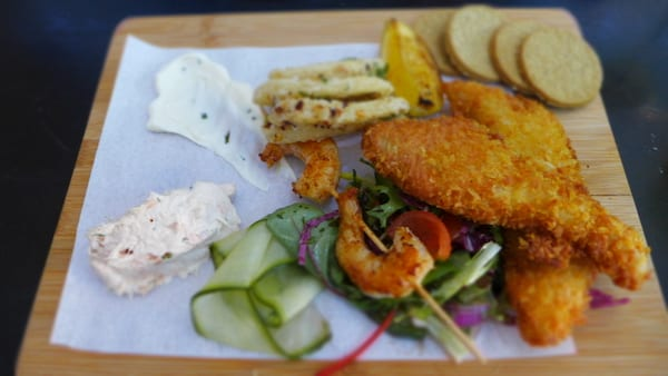 glasgow foodie explorers Bell_and_Felix_tasteboard_seafood