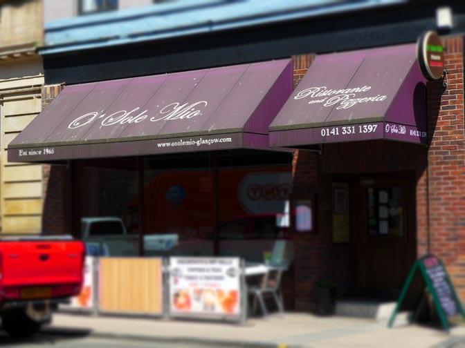 O Sole Mio Italian restaurant - Bath Street