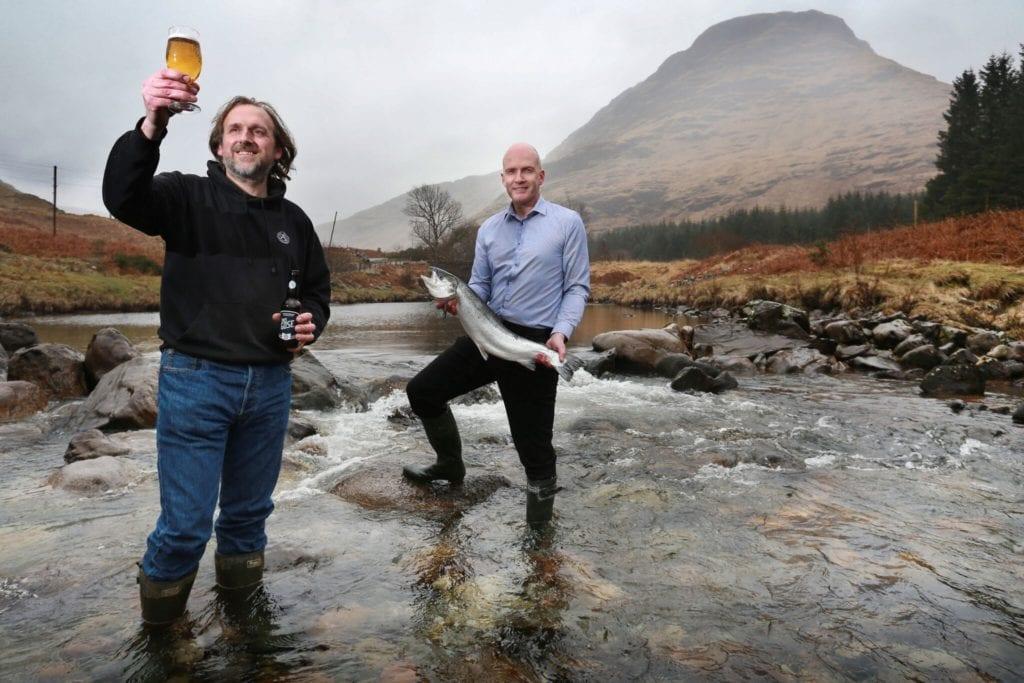 Loch Fyne oyster bar Fyne ales this goes seafood salmon Glasgow foodie explorers