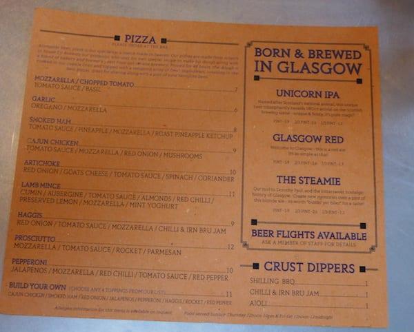 Shilling_Brewing_co_glasgow_menu