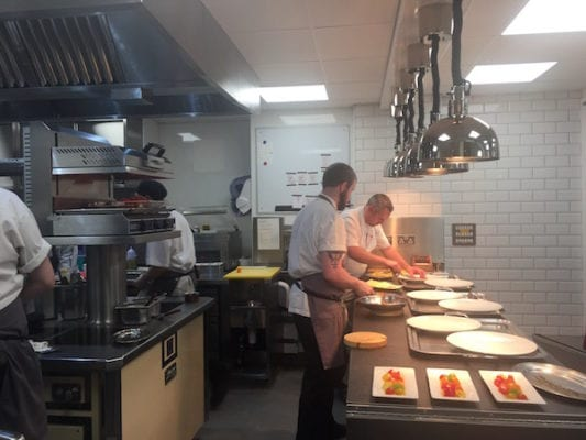 castle terrace edinburgh kitchen pass