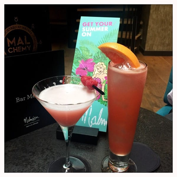 malmaison glasgow summer cocktails