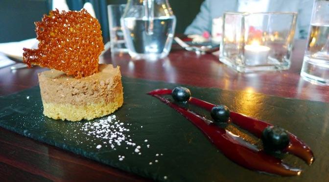 No 11 Brunswick St - Dark chocolate cheesecake