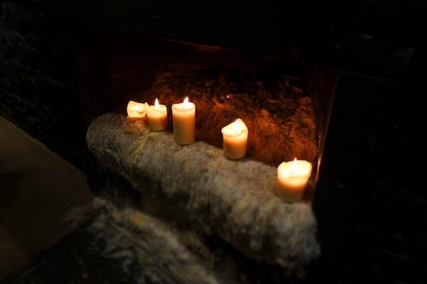 the_Stockbridge_restaurant_candles