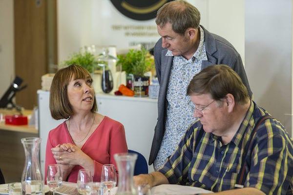 GT15-Author-Joanna-Blythman-with-Master-Chef-judge-Charles-Campion