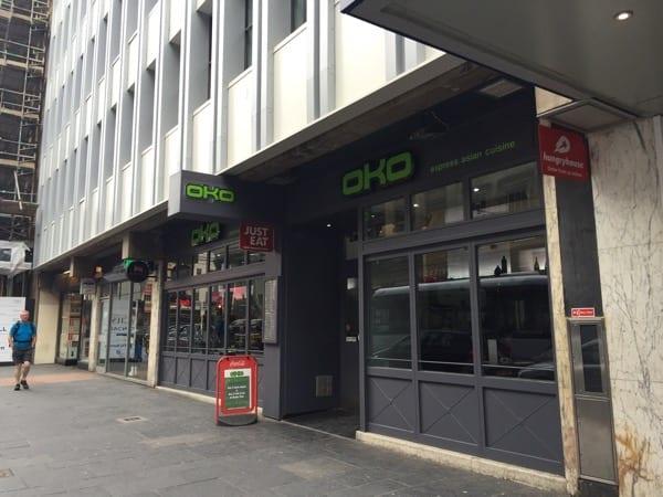 OKO express sushi Japanese Glasgow