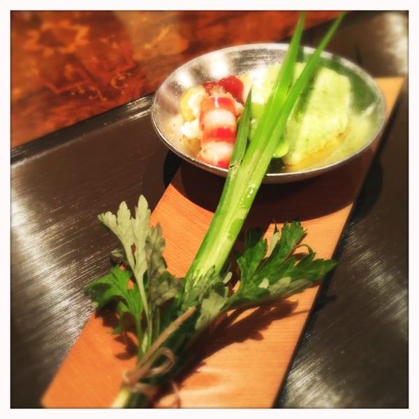 Asparagus mousse