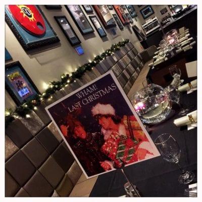 Hard Rock Cafe Glasgow Christmas
