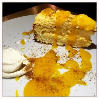 laneways collective mango drizzle cake
