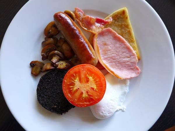 Atholl Arms Dunkeld full breakfast