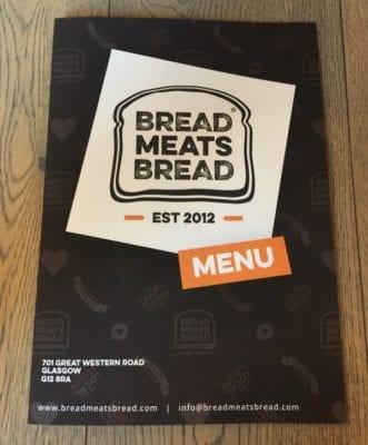 Bread Meats Bread Glasgow west end