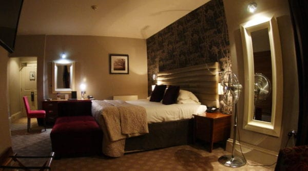 Jesmond Dene House hotel - bedroom