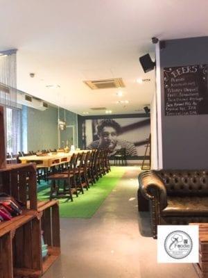 Gerry's Kitchen food London cafe Stratford