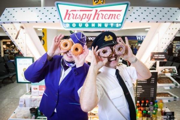 Krispy Kreme Glasgow airport