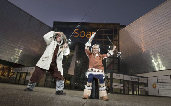 Soar intu Braehead Christmas kids