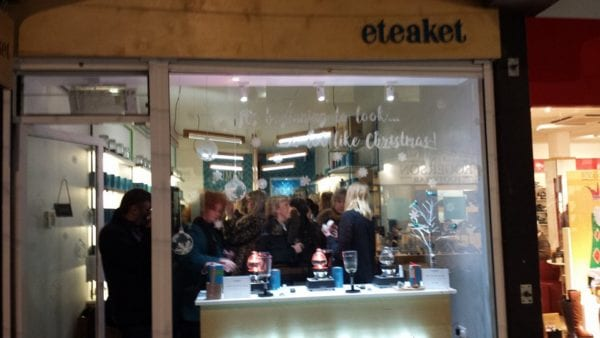 Eteaket Edinburgh - front of shop