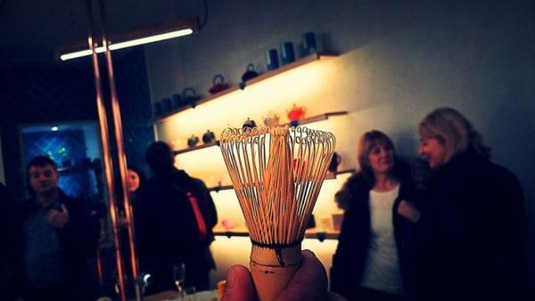 Eteaket Edinburgh - matcha tea whisk