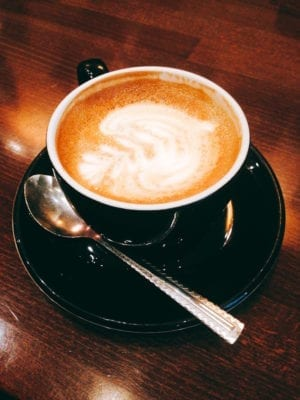 Walking food tour: A perfect coffee in Riverhill cafe bar