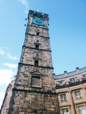 Walking food tour: Tolbooth Steeple, Glasgow Cross
