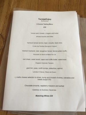 turnip and enjoy menu 1