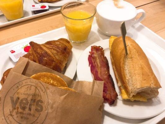 Hema The Hague cheap breakfast Holland Netherlands