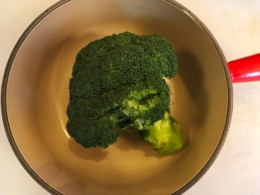 Recipe creamed brocolli