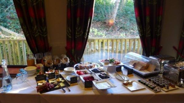 Old Mill Inn, Pitlochry - Breakfast buffet