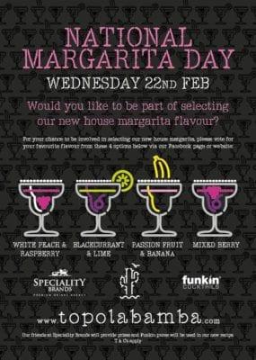 Topolabamba national Margarita day
