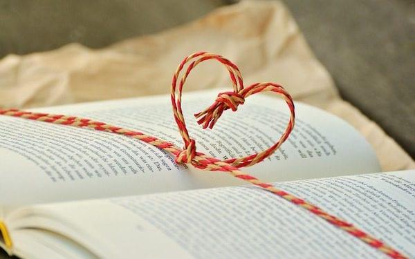 heart book valentine