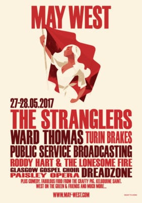 May west Glasgow music festival