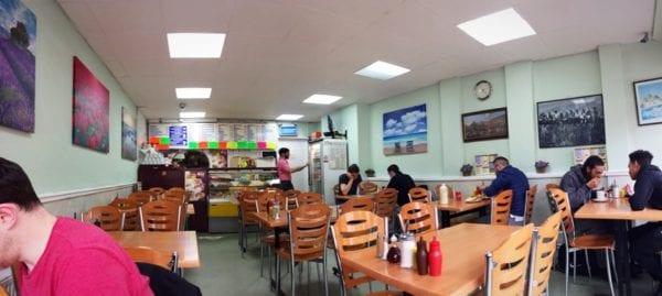 Plaistow cafe London Inside