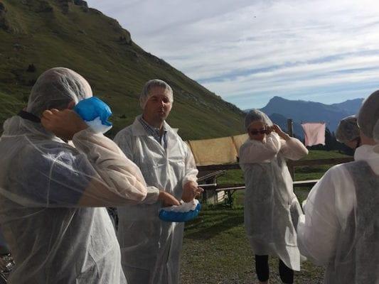 rupp cheese press trip austria
