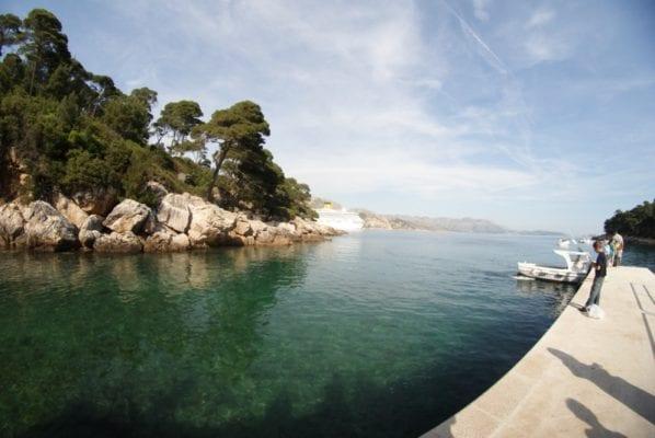 Lokrum island day trip Dubrovnik Croatia